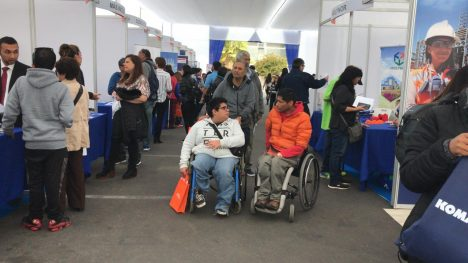 802 alternativas para encontrar trabajo en Expo Inclusión 2021