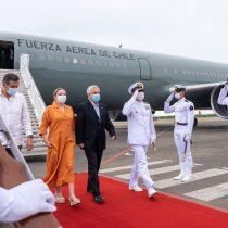 Presidente Piñera inicia gira por Sudamérica y arriba a Colombia