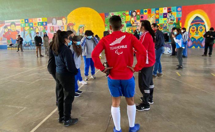 Lanzan programa que fomenta el deporte inclusivo en colegios