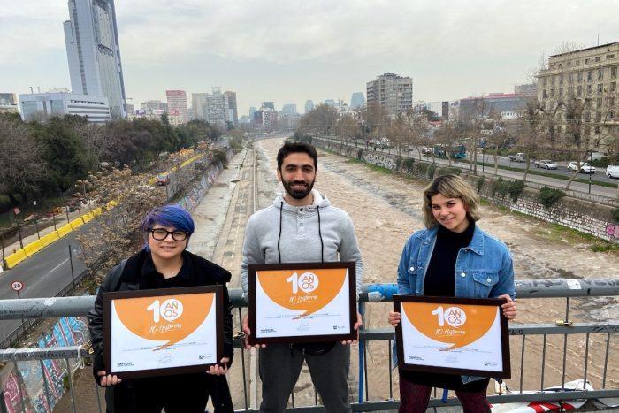 Celebran los 10 años del Mapocho Urbano Limpio con concurso audiovisual