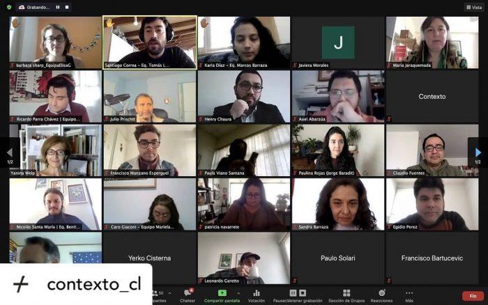 Con alta asistencia, constituyentes y sus asesores participan en ciclos de formación diseñados por la Plataforma Contexto