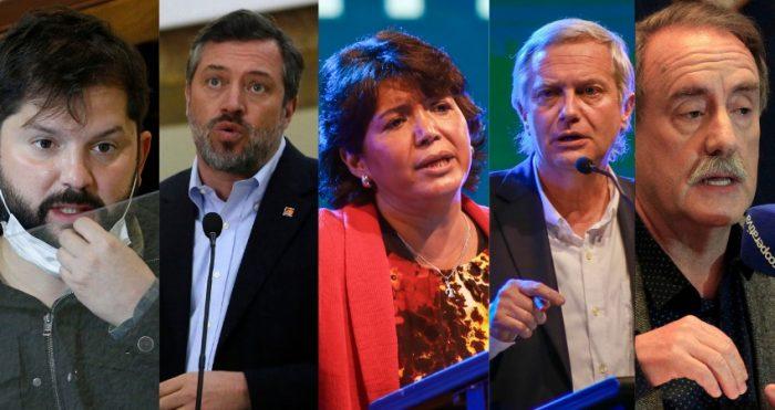 El minuto final: revise el discurso de cierre de los candidatos en el intenso primer debate presidencial