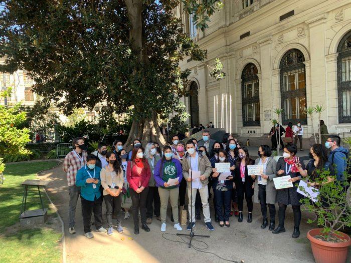 Grupo de constituyentes presentan propuesta que insta a la Convención Constitucional