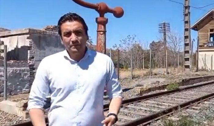 Alcalde de Tiltil en picada contra el Gobierno por excluir a la comuna del recorrido del Metrotrén: acusa que los están transformando