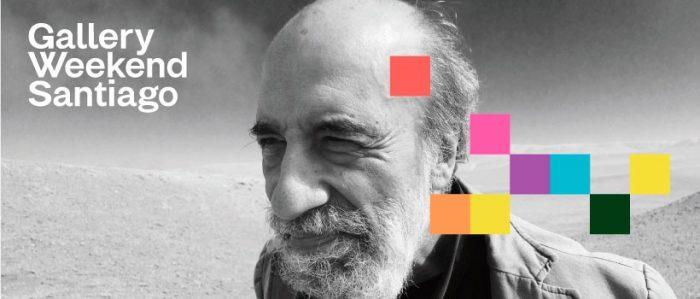 Raúl Zurita en ciclo El arte lo dijo primero: «No soy un artista visual porque mi base es la palabra»