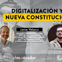 Ciclo Mercedes Bunz: «Digitalización y nueva Constitución»