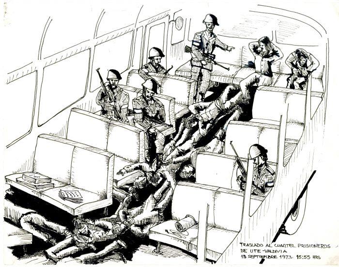 «Dibujos en prisión» de UMCE y Museo de la Memoria