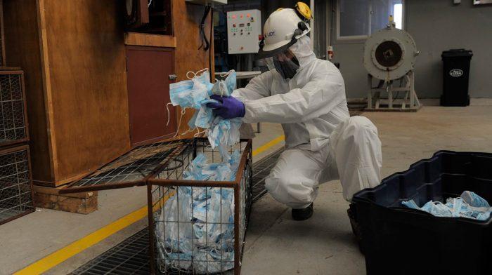 Más de 300 mil mascarillas recicladas gracias a la tecnología