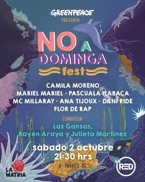 """Artistas, ambientalistas y líderes de opinión se unen en festival para  decir """"No a Dominga"""""""