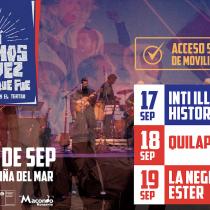 Inti-Illimani Histórico, Quilapayún y La Negra Ester en Viña del Mar