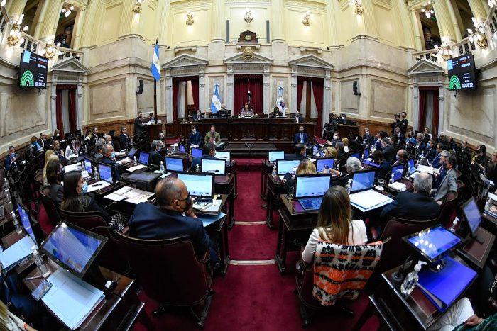 Senado argentino rechaza decreto de Chile sobre plataforma continental