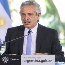Alberto Fernández dice que «Argentina no se va a arrodillar ante el FMI»