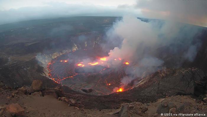 Volcán Kilauea en Hawai entró en erupción