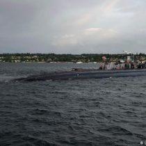 Submarino nuclear estadounidense choca con
