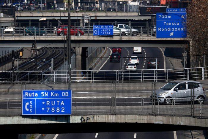 Autopista Central acuerda construcción de dos túneles unidireccionales en Santiago