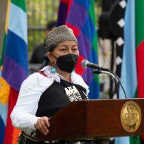 Elisa Loncon critica aplicación de estado de excepción en zona mapuche: