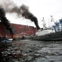 Armada confirma disparo de perdigones de goma en protesta de pescadores en Valparaíso
