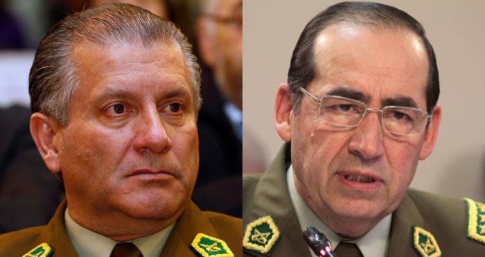 Pacogate: decretan prisión preventiva de ex generales directores de Carabineros Gustavo González Jure y Bruno Villalobos, el favorito de Bachelet