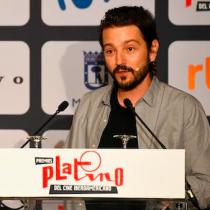 Diego Luna y su premio Platino de Honor: