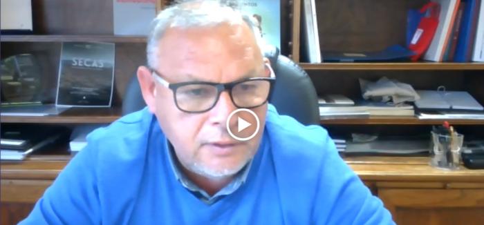 """Gobernador Mundaca por intervención del río Aconcagua: """"Exigimos que se comprenda que el problema del agua en la Región de Valparaíso es estructural, como en todo el país"""""""