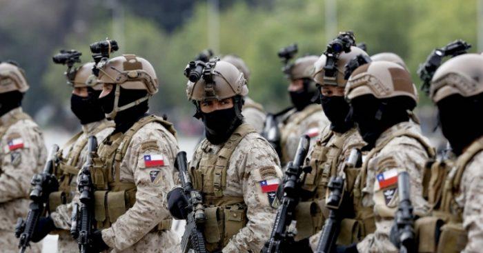 El uso de las Fuerzas Armadas en tiempos de paz