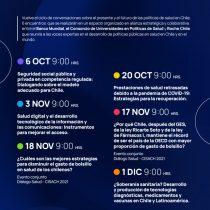 Dialogos Salud 2021 inicia su ciclo de conversaciones sobre el presente y futuro de las políticas de salud