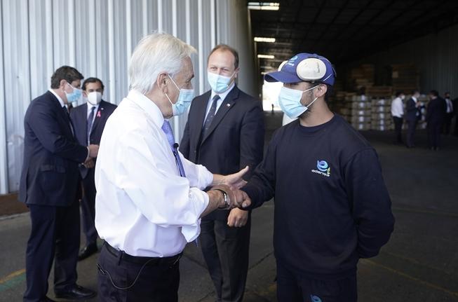 """Presidente evita los """"Piñera Papers"""" y opta por mandar duro mensaje a los candidatos: """"Algunos están dispuestos a destruir nuestro país con tal de ganar un voto"""""""