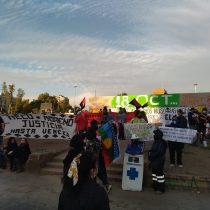 Manifestaciones en Plaza Italia por presos del estallido: Carabineros dispersa protesta