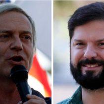 """JAK desafía a Boric a un debate y el candidato de Apruebo Dignidad le ofrece hacerlo """"en Panamá, para que juegue de local"""