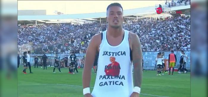 «Justicia para Paulina Gatica»: el potente mensaje de jugador de Colo Colo por víctima de femicidio