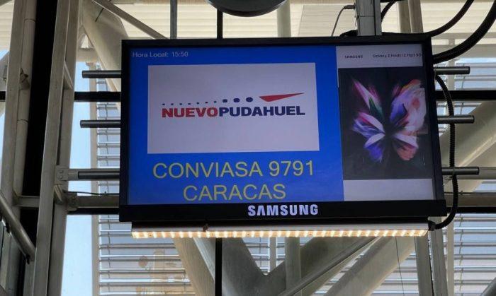 200 venezolanos abandonan Chile y regresan a su país a través del