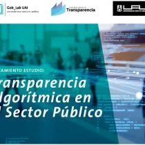 Consejo para la Transparencia y UAI presentan estudio sobre el uso de algoritmos en organismos públicos