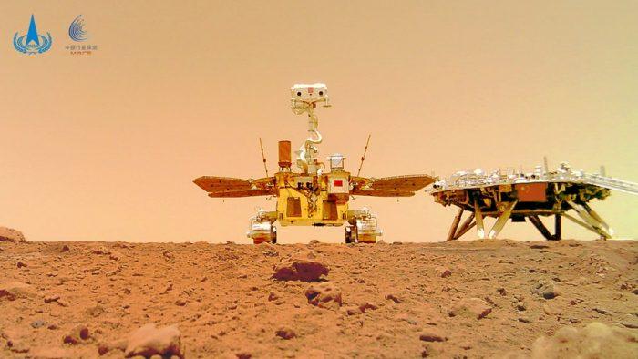 Sondas chinas suspenden exploraciones en Marte debido a apagón solar