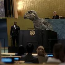 «No elijan la extinción»: el corto patrocinado por la ONU en que un dinosaurio advierte por los combustibles fósiles