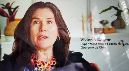 Superintendenta de Casinos, Vivien Villagrán, en la cuerda floja